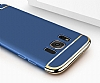Eiroo Trio Fit Samsung Galaxy S8 3ü 1 Arada Siyah Rubber Kılıf - Resim 2