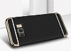 Eiroo Trio Fit Samsung Galaxy S8 Plus 3ü 1 Arada Gold Rubber Kılıf - Resim 4