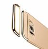 Eiroo Trio Fit Samsung Galaxy S8 Plus 3ü 1 Arada Gold Rubber Kılıf - Resim 5