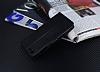 Eiroo Turkcell T70 Cüzdanlı Yan Kapaklı Siyah Deri Kılıf - Resim 4