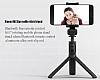 Eiroo Universal Tripodlu Bluetooth Selfie Çubuğu - Resim 6