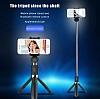 Eiroo Universal Tripodlu Bluetooth Selfie Çubuğu - Resim 1