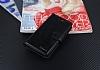 Eiroo Vodafone Smart 6 Prime Cüzdanlı Yan Kapaklı Siyah Deri Kılıf - Resim 3