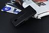 Eiroo Vodafone Smart 6 Prime Cüzdanlı Yan Kapaklı Siyah Deri Kılıf - Resim 4
