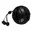Eiroo Waffle Mikrofonlu Kulakiçi Siyah Kulaklık - Resim 1