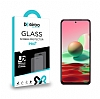 Eiroo Xiaomi Redmi Note 10S Tempered Glass Cam Ekran Koruyucu