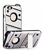 Eiroo Zag Armor iPhone 6 / 6S Standlı Ultra Koruma Silver Kılıf - Resim 4