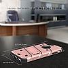 Eiroo Zag Armor iPhone 7 Plus / 8 Plus Standlı Ultra Koruma Rose Gold Kılıf - Resim 1