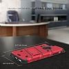 Eiroo Zag Armor iPhone 7 Plus / 8 Plus Standlı Ultra Koruma Kırmızı Kılıf - Resim 1