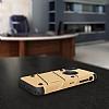 Eiroo Zag Armor iPhone X Standlı Ultra Koruma Gold Kılıf - Resim 4