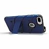 Eiroo Zag Armor Samsung Galaxy Note 5 Standlı Ultra Koruma Silver Kılıf - Resim 1