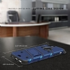 Eiroo Zag Armor Samsung Galaxy S7 Edge Standlı Ultra Koruma Siyah Kılıf - Resim 2
