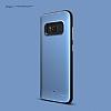 Elago Hybrid Samsung Galaxy S8 Metalik Mavi Kılıf - Resim 2