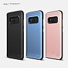 Elago Hybrid Samsung Galaxy S8 Metalik Mavi Kılıf - Resim 1