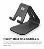 Elago M2 Universal Siyah Telefon Standı - Resim 1