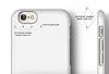 Elago S6 Slim Fit 2 iPhone 6 / 6S Beyaz Rubber Kılıf - Resim 7