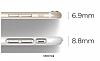 Elago S6 Slim Fit 2 iPhone 6 / 6S Beyaz Rubber Kılıf - Resim 3