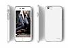 Elago S6 Slim Fit 2 iPhone 6 / 6S Beyaz Rubber Kılıf - Resim 2