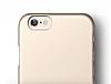Elago S6 Slim Fit 2 iPhone 6 / 6S Gold Rubber Kılıf - Resim 7