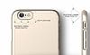 Elago S6 Slim Fit 2 iPhone 6 / 6S Gold Rubber Kılıf - Resim 5