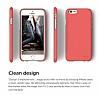 Elago S6 Slim Fit 2 iPhone 6 / 6S Italian Rose Rubber Kılıf - Resim 2