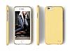 Elago S6 Slim Fit 2 iPhone 6 / 6S Sarı Rubber Kılıf - Resim 2