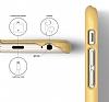 Elago S6 Slim Fit 2 iPhone 6 / 6S Sarı Rubber Kılıf - Resim 4