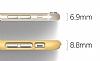 Elago S6 Slim Fit 2 iPhone 6 / 6S Sarı Rubber Kılıf - Resim 5