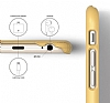 Elago S6 Slim Fit 2 iPhone 6 Plus / 6S Plus Sarı Rubber Kılıf - Resim 4