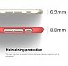 Elago S6 Slim Fit 2 iPhone 6 Plus / 6S Plus Italian Rose Rubber Kılıf - Resim 3