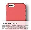 Elago S6 Slim Fit 2 iPhone 6 Plus / 6S Plus Italian Rose Rubber Kılıf - Resim 1