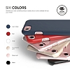 Elago Slim Fit iPhone 7 / 8 Rose Gold Rubber Kılıf - Resim: 6