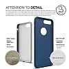 Elago Slim Fit Soft iPhone 7 Plus Lacivert Silikon Kılıf - Resim: 7