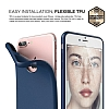 Elago Slim Fit Soft iPhone 7 Plus Lacivert Silikon Kılıf - Resim: 3