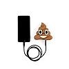 Emoji 2600 mAh Powerbank Kahverengi Yedek Batarya - Resim 2