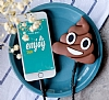 Emoji 2600 mAh Powerbank Kahverengi Yedek Batarya - Resim 4