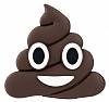 Emoji 2600 mAh Powerbank Kahverengi Yedek Batarya - Resim 1