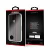 Ferrari iPhone 6 Plus / 6S Plus / 7 Plus / 8 Plus Kapaklı Gerçek Deri Kılıf - Resim 6