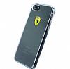 Ferrari iPhone 7 / 8 Şeffaf Silikon Kılıf - Resim 1