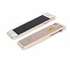 Ferrari iPhone 7 / 8 Ultra Koruma Silikon Kenarlı Şeffaf Beyaz Kılıf - Resim 3