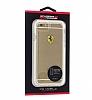 Ferrari iPhone 7 / 8 Ultra Koruma Silikon Kenarlı Şeffaf Siyah Kılıf - Resim 4