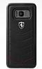 Ferrari Samsung Galaxy S8 Gerçek Deri Rubber Kılıf - Resim 3