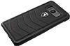 Ferrari Samsung Galaxy S8 Gerçek Deri Rubber Kılıf - Resim 2