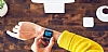Fitbit Ionic Slate Blue & Burnt Orange Akıllı Saat FB503CPBU-EU - Resim 1