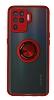 Union Ring Oppo Reno 5 Lite Kamera Korumalı Kırmızı Kılıf