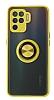 Union Ring Oppo Reno 5 Lite Kamera Korumalı Sarı Kılıf