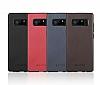 G-Case Duke Series Samsung Galaxy Note 8 Metal Tuşlu Kırmızı Deri Kılıf - Resim 8
