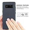 G-Case Duke Series Samsung Galaxy Note 8 Metal Tuşlu Lacivert Deri Kılıf - Resim 1