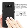 G-Case Duke Series Samsung Galaxy Note 8 Metal Tuşlu Siyah Deri Kılıf - Resim 7