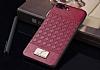 G-Case Gentleman Series iPhone X Deri Kırmızı Rubber Kılıf - Resim 1